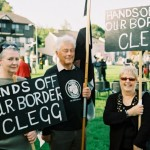 Hands off border Clegg