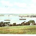 The Hamoaze from Empacombe near Mount Edgcumbe, 1904